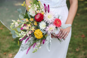 Colorful Garden Wedding