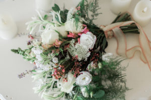 bridal bouquet, white, pink, blush, burgundy