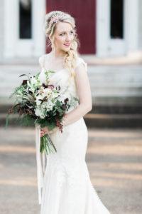 white, burgundy, blush, summer bouquet