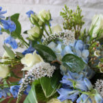 A Blue and White Summer Wedding