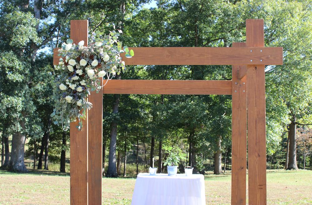 wedding arch, ceremony arch, wedding backdrop