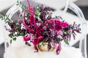 purple flowers, fall flowers, jewel tone flowers, centerpiece, wedding flowers, evansville florist, evansville indiana, local flowers