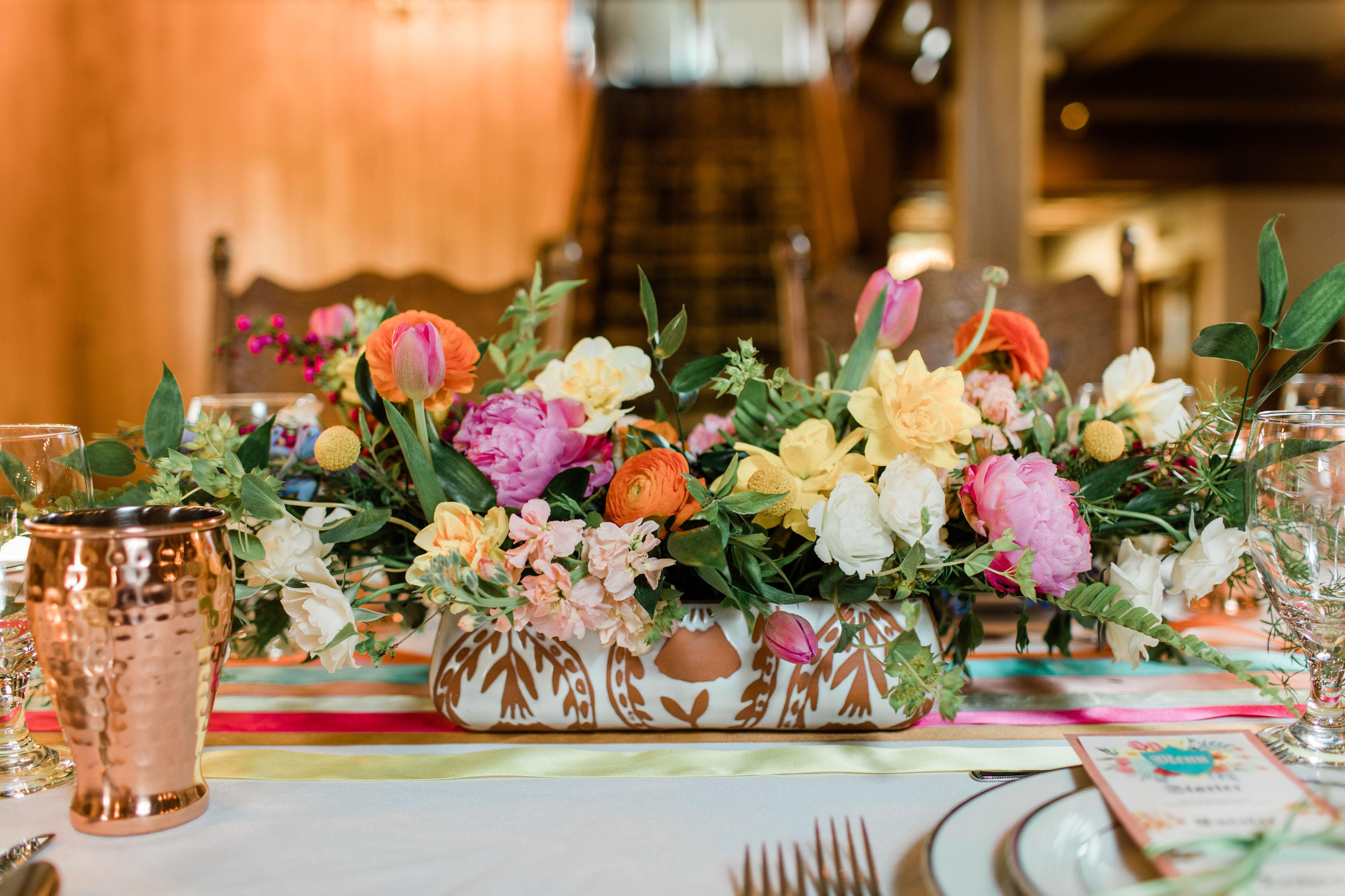 floral arrangement by emerald design