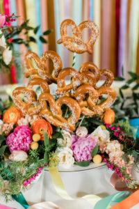 pretzel bar at the bauerhaus