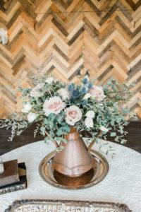 entry floral arrangement