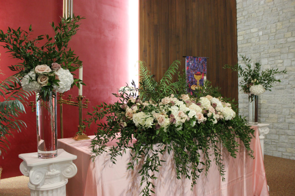 altar arrangement at neu chapel