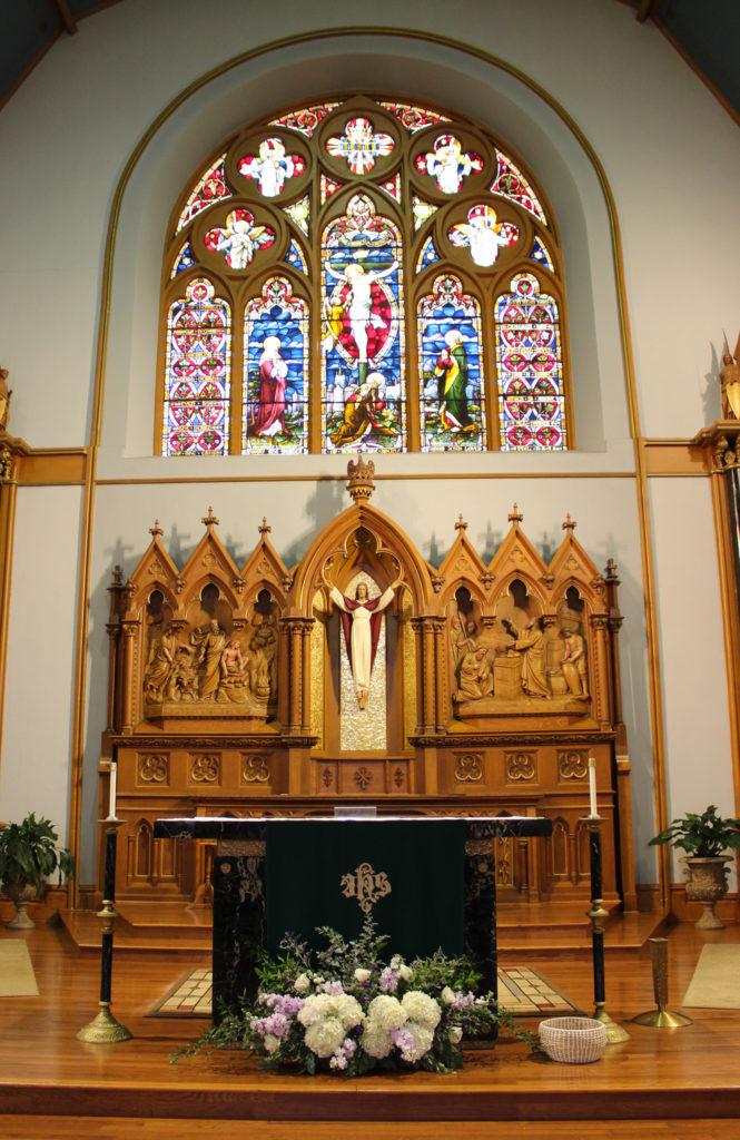 wedding at holy name catholic church