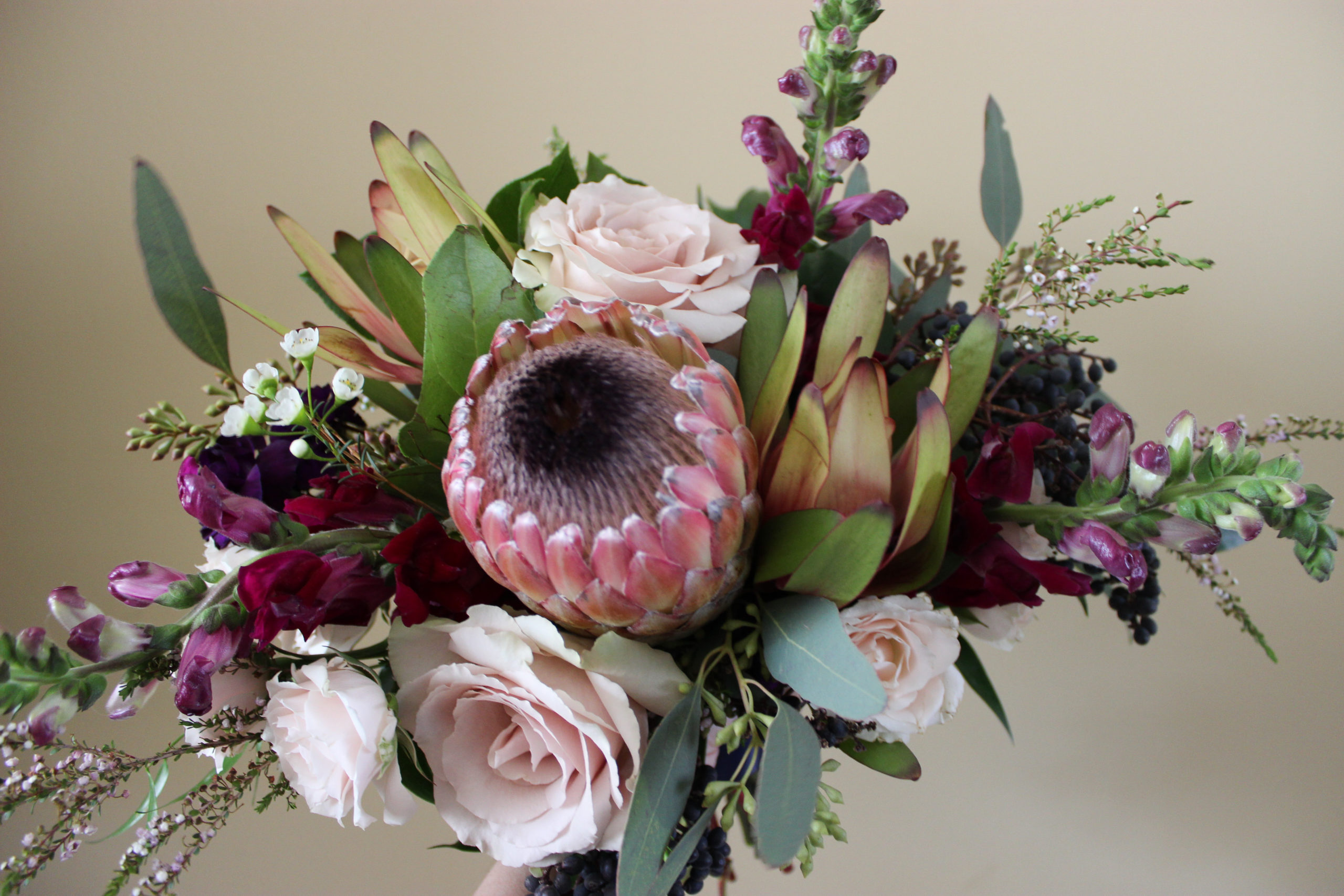 bridesmaid bouquet created by emerald design