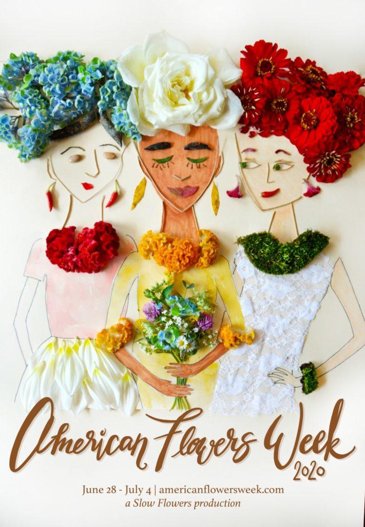 american flowers week promotion